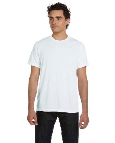 Unisex Poly-Cotton Short-Sleeve T-Shirt