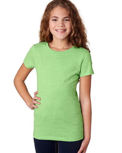 Next Level Girls' Princess CVC Tee