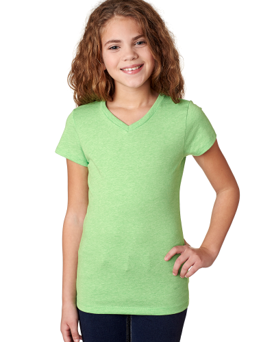 Next Level Girls' Adorable CVC V-Neck Tee