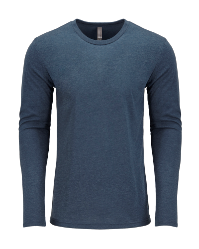 Next Level Men's Triblend Long-Sleeve Crew Tee
