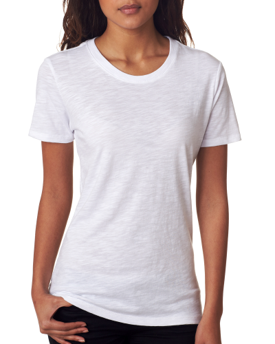 Next Level Ladies' Slub Crew Tee