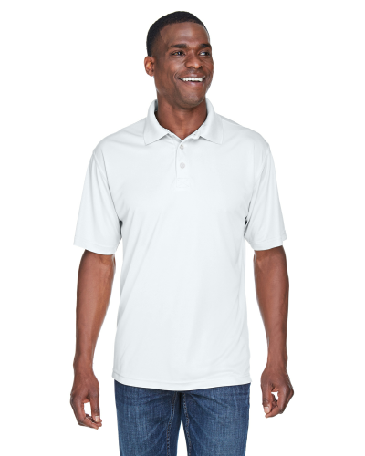 UltraClub Men's Cool & Dry Sport Performance Interlock Polo