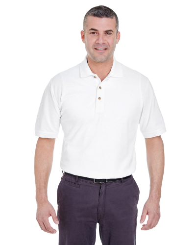 UltraClub Men's Classic Pique Polo