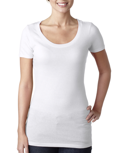 Next Level Ladies' Scoop Neck Tee