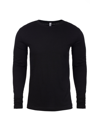 Next Level Men??s Premium Fitted Long Sleeve Tee