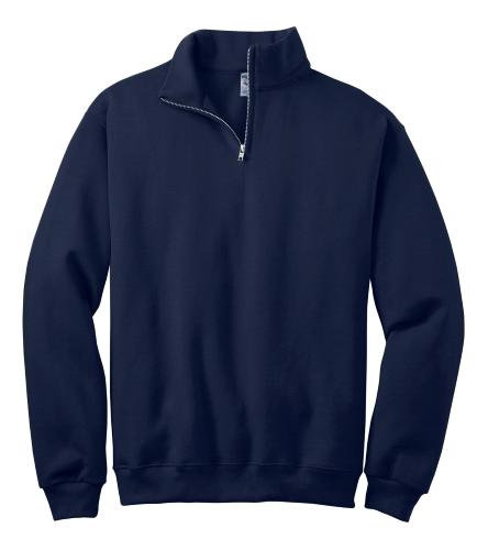 JERZEES 1/4-Zip Cadet Collar Sweatshirt