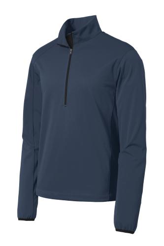 Port Authority Active 1/2-Zip Soft Shell Jacket