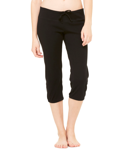 + Canvas Ladies' Capri Scrunch Pant