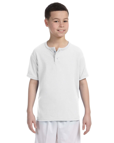 Youth 50/50 Two-Button Baseball Jersey