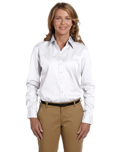 Ladies' 32 Singles Long-Sleeve Twill