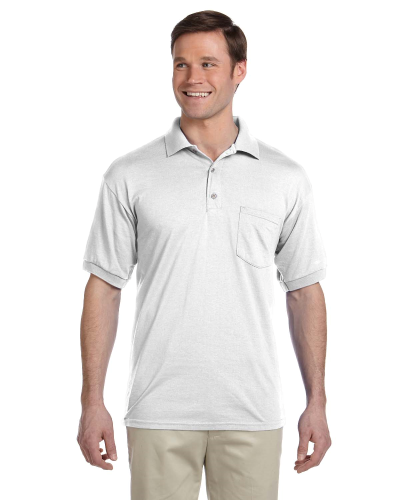 DryBlend® 6 oz., 50/50 Jersey Polo with Pocket