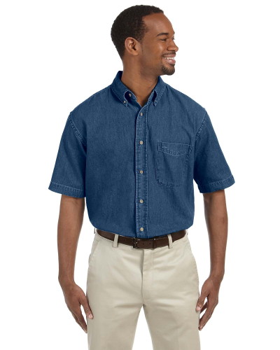 Men's 6.5 oz. Short-Sleeve Denim Shirt