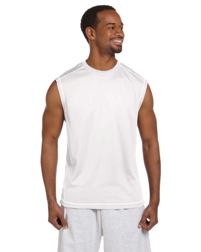 4.1 oz. Double Dry? Muscle T-Shirt with Odor Resistance