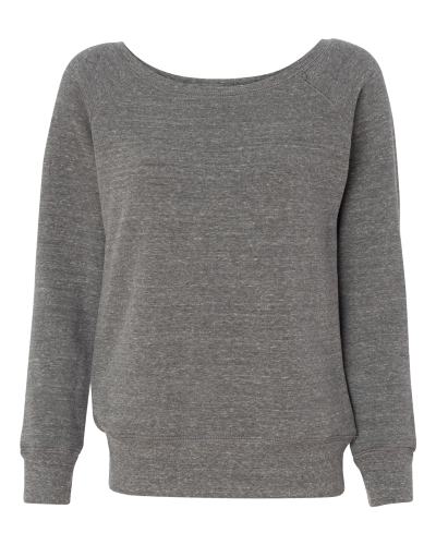 Bella – Triblend Sponge Fleece Slouchy Wideneck Sweatshirt