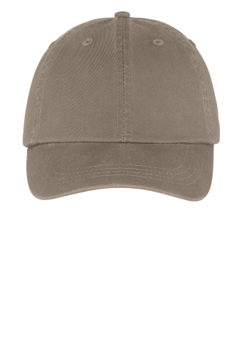 CP78 Port & Co. Washed Twill Cap