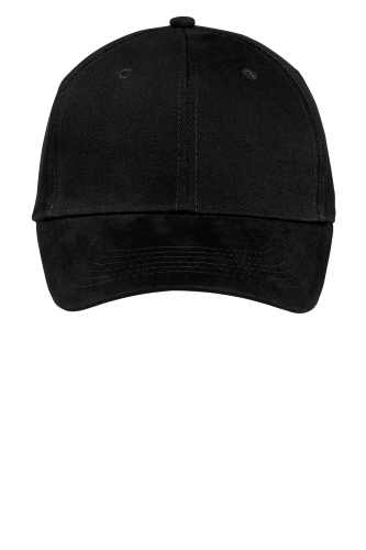 CP82 Port & Co. Brushed Twill Cap