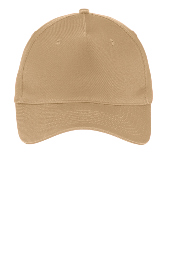 Port & Company Five-Panel Twill Cap