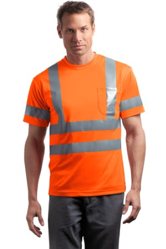 CornerStone ANSI 107 Class 3 Short Sleeve Snag-Resistant Reflective T-Shirt