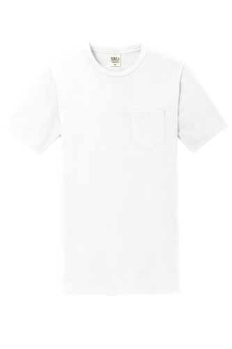 Port & Company Essential Pigment-Dyed Pocket Tee