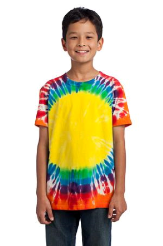 Port & Company Youth Essential Window Tie-Dye Tee
