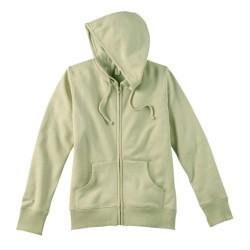 Ladies' 9 oz. Organic/Recycled Full-Zip Hood
