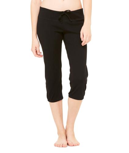 + Canvas Ladies' Capri Scrunch Pant