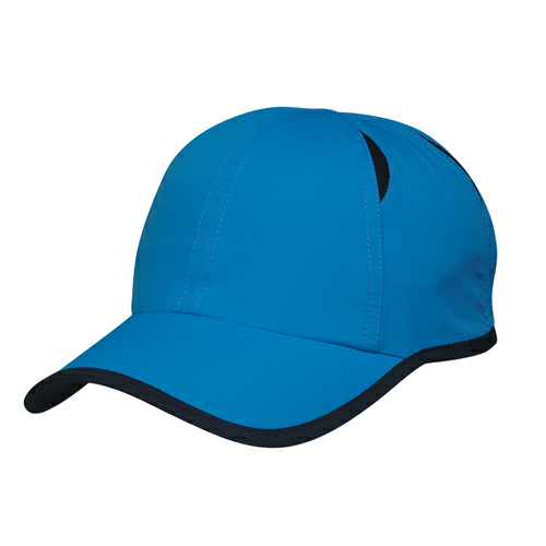Royal Blue/black Dry Cap as seen from the front