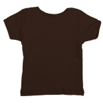 Bark Organic Infant Lapover Tee as seen from the back