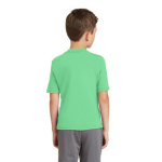 Grass MADE IN USA Toddler Fine Jersey Short-Sleeve T-Shirt as seen from the back