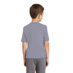 Slate MADE IN USA Toddler Fine Jersey Short-Sleeve T-Shirt as seen from the back