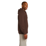 Bark Organic Full Zip Hooded Sweatshirt as seen from the sleeveright