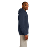 Ocean Organic Full Zip Hooded Sweatshirt as seen from the sleeveright