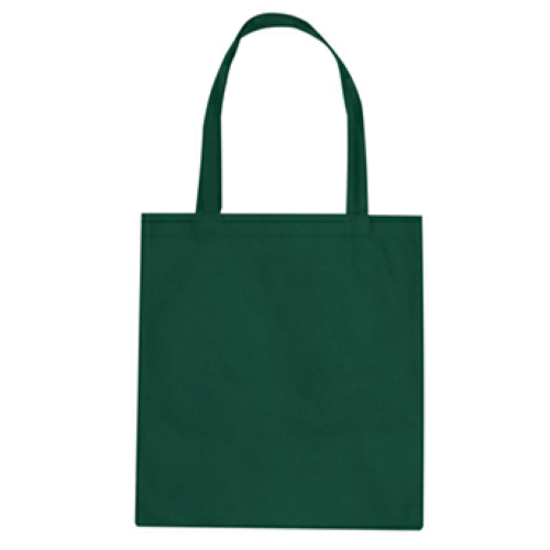 Forest Green Non-Woven Promotional Tote Bag as seen from the front