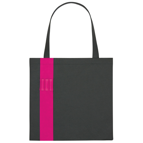 Fuchsia Non-Woven Colony Tote as seen from the front