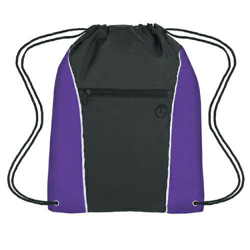 Purple Vertical Sports Pack as seen from the front