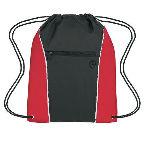 Red Vertical Sports Pack as seen from the front