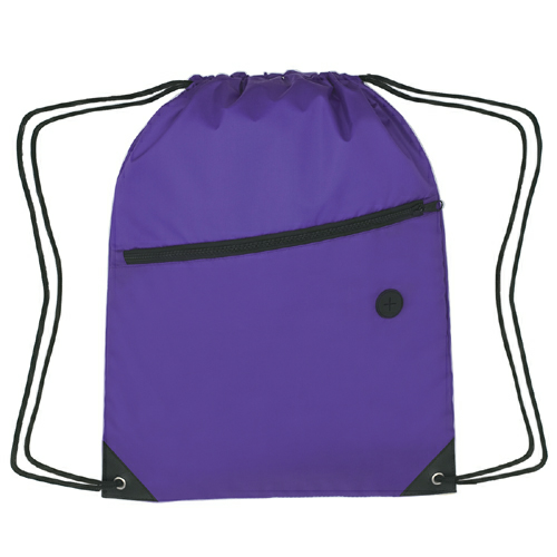 Sports Pack With Front Zipper