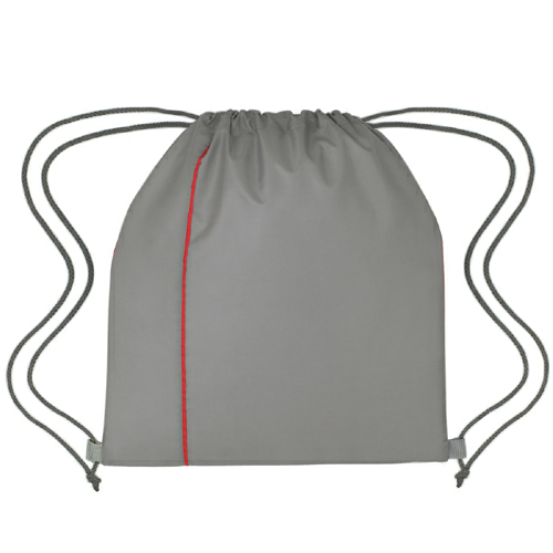 Gray With Red Reversible Sports Pack as seen from the front
