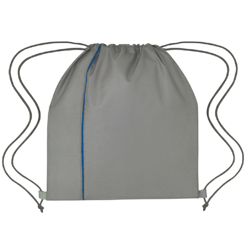 Gray With Royal Blue Reversible Sports Pack as seen from the front