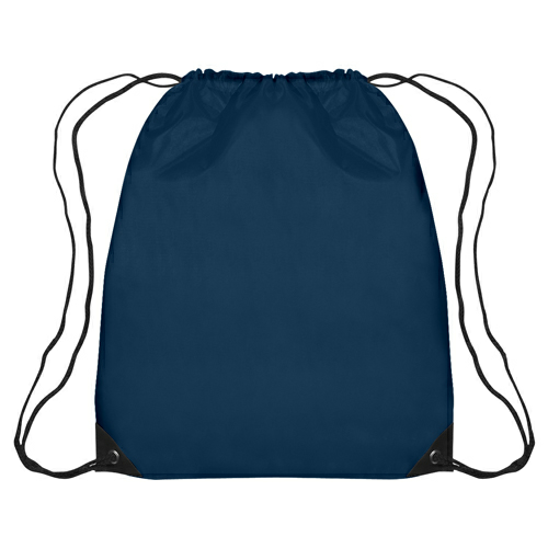 Navy Large Sports Pack as seen from the front