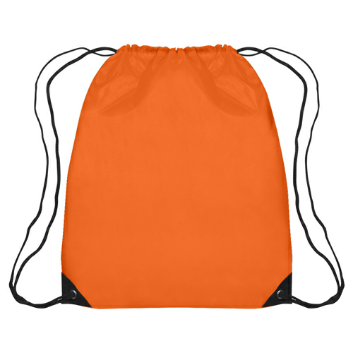 Orange Large Sports Pack as seen from the front