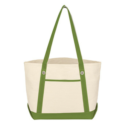 Medium Cotton Canvas Sailing Tote