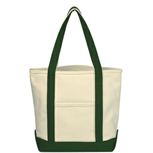 Small Heavy Cotton Canvas Boat Tote