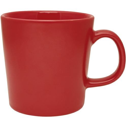 Red Mellow Mug Collection as seen from the front