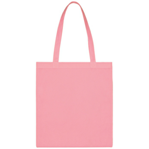 Pink Non-Woven Economy Tote Bag as seen from the front