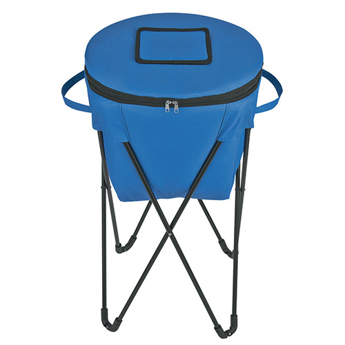Royal Blue Kooler On Stand as seen from the front