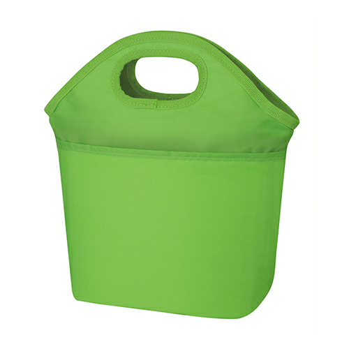 Lime Green Hampton Kooler Bag as seen from the front