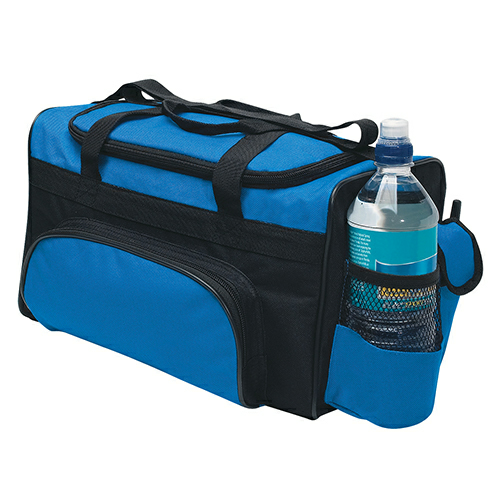 Royal Blue Kooler Bag as seen from the front