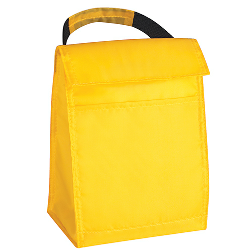 Yellow Budget Lunch Bag as seen from the front