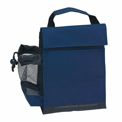 Navy Identification Lunch Bag as seen from the front